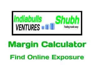 Indiabulls subh Securities Margin Calculator