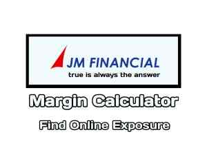 JM Financial Margin Calculator Online in 2019