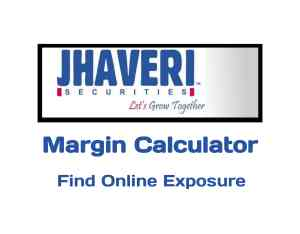 Jhaveri Securities Margin Calculator Online in 2019