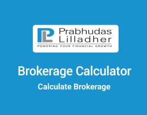 Prabhudas Lilladher Brokerage Calculator Online - Lowest Brokerage