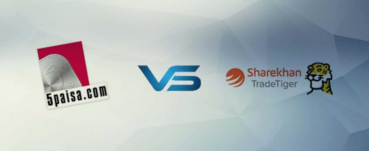 5Paisa vs Sharekhan
