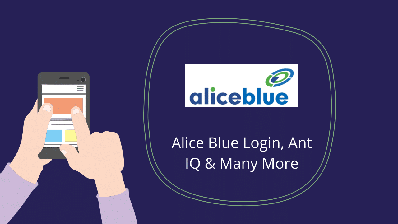 Alice Blue Login