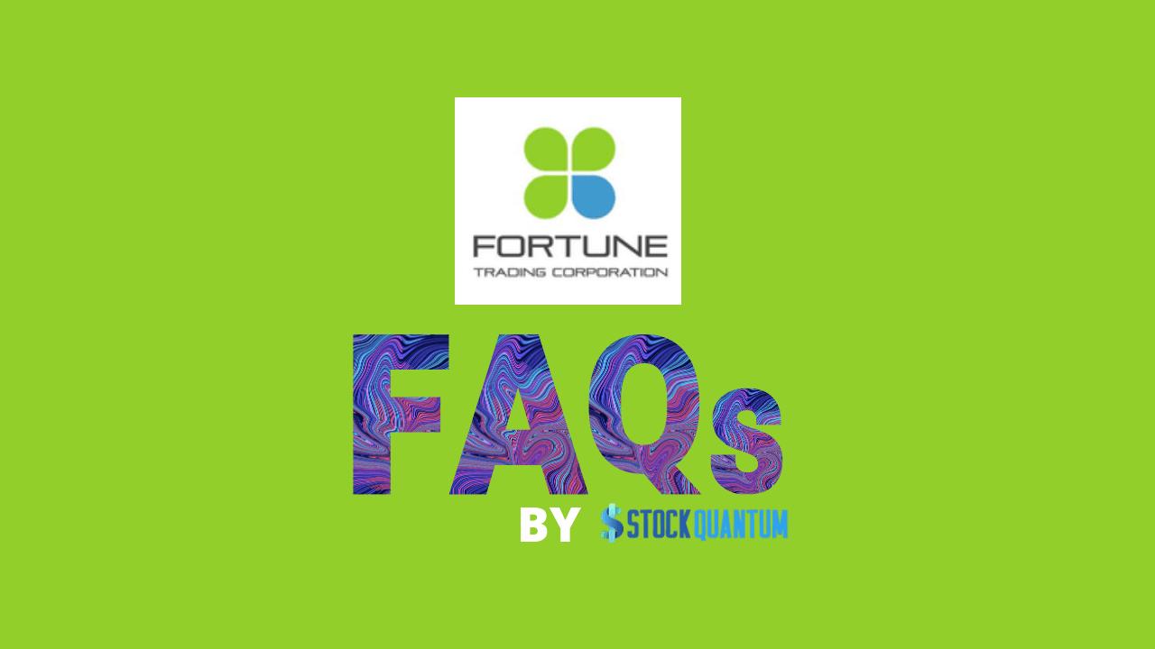 Fortune Traders FAQ