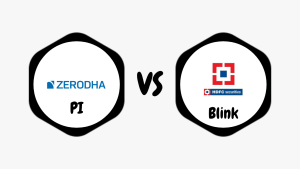 Zerodha Pi Vs HDFC Securities Blink Comparison