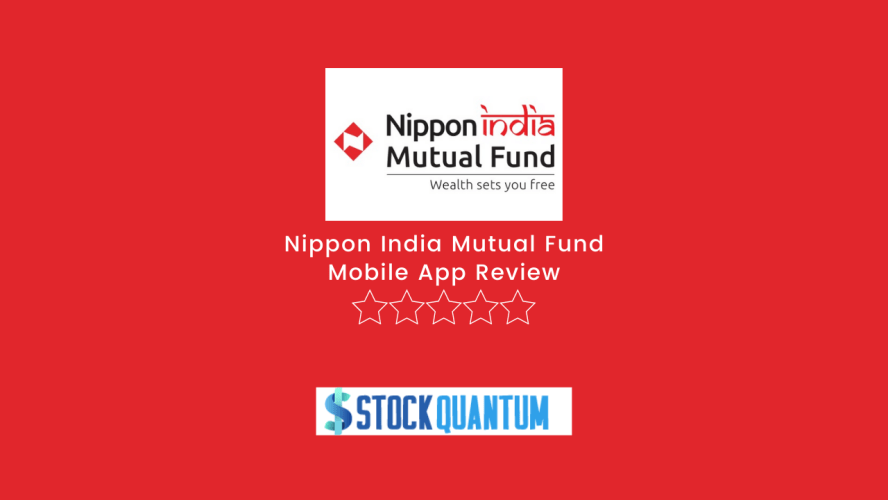 Nippon India Mutual Fund Mobile App Review