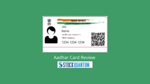 Aadhar Card Review
