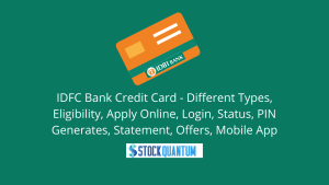 IDFC Bank Credit Card