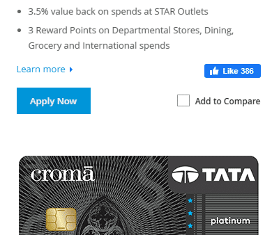 Tata Credit Card Apply