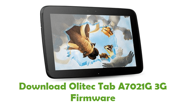 Download Olitec Tab A7021G 3G Firmware