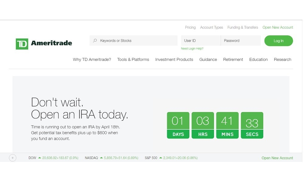TD Ameritrade WAYS TO SAVE ON MONTHLY EXPENSES