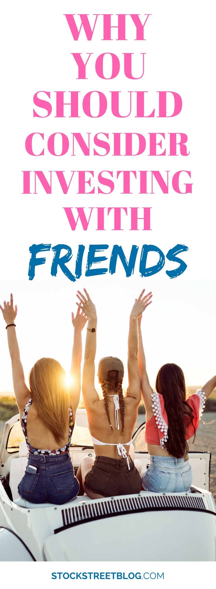 There is perhaps nothing better than #friendship! If you trust your #friends, and you enjoy spending time with your friends, maybe it is time you thought about learning to #invest with friends! Investing can be a lonesome journey when you do it on your own. When you do it with your friends, you may have more success! #money #personalfinance #stockmarket #realestate #financialfreedom