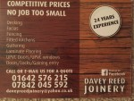 Davey Reed joinery