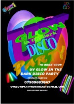 Uv glow party north east