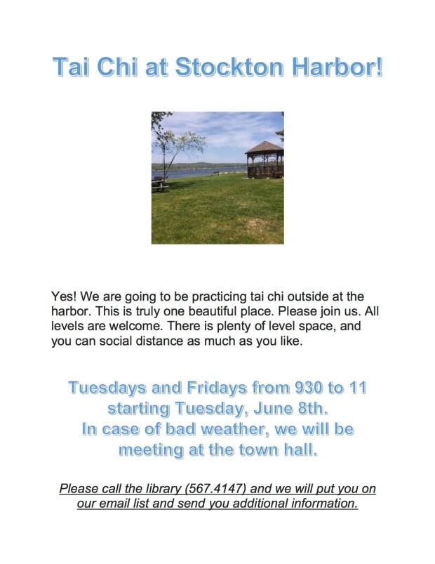 Tai Chi at Stockton Harbor