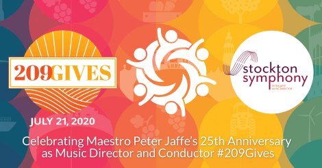 #209Gives - Celebrating Maestro Peter Jaffe's 25th Anniversary as Music Director and Conductor