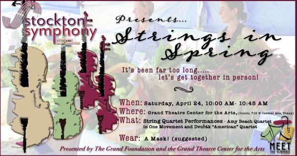 Join us live for Strings in Spring on Saturday, April 24 at 10am