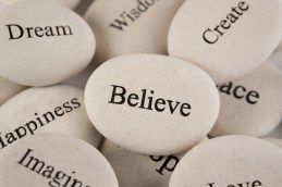 Believe, Dream, Imagine, Create.