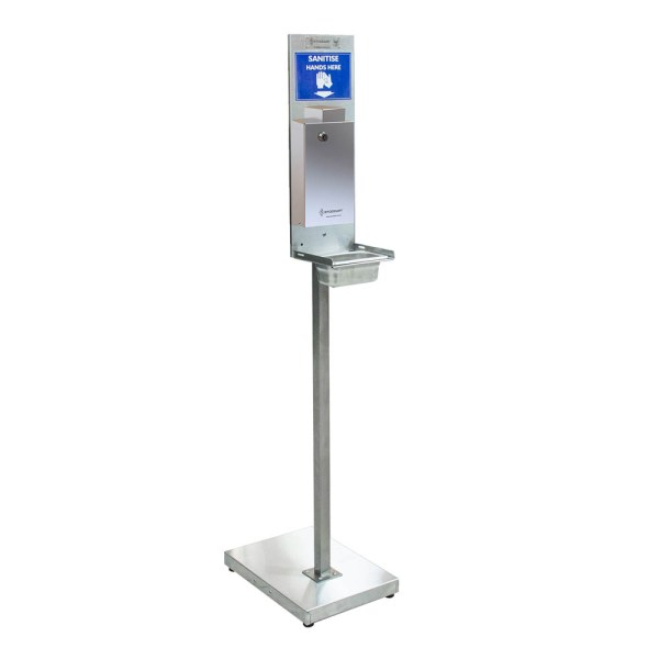 Hand Sanitiser Stand - With Standard Security Dispenser