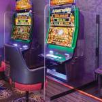 Sneeze Guard Acrylic Divider Screen - Poker Machine Use