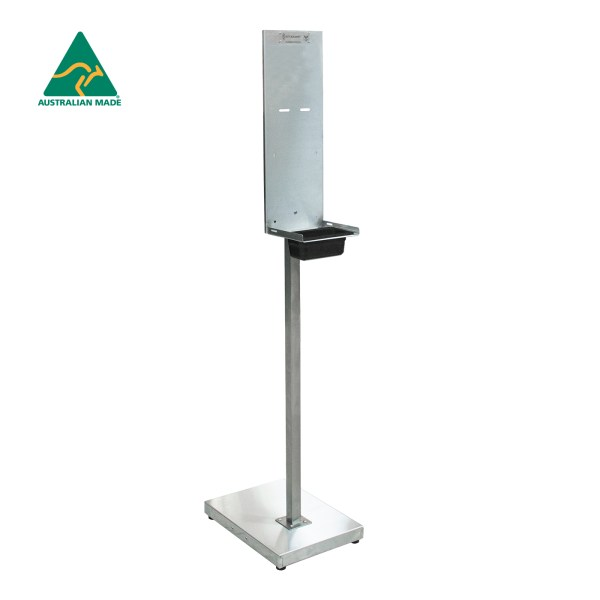 Hand Sanitiser Stand - Stainless Steel