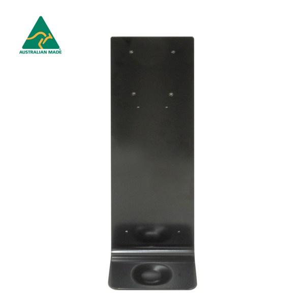 Black Wall Mounting Plate - For Hand Sanitiser Dispenser