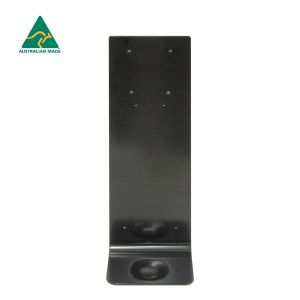 Black Wall Mounting Plate - For Hand Sanitiser Dispenser