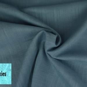 Leinen 34 Vintage Blau