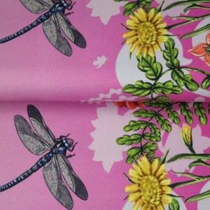 Stenzo Schmetterling und Blumen 1