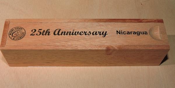Miami Cigar and Company 25th Anniversary Nicaragua  Coffin