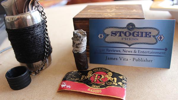Rock A Feller Cigars Vintage Nicaragua Maduro Lancero