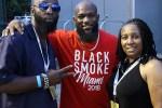 Black smoke Miami 2018 Night 3