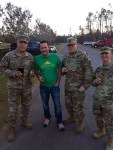 Claudio Sgroi and Troops