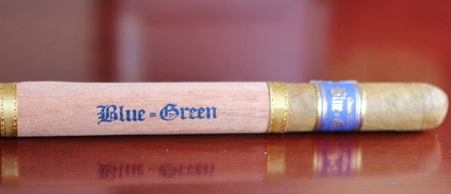 Gran Habano Blue in Green Churchill