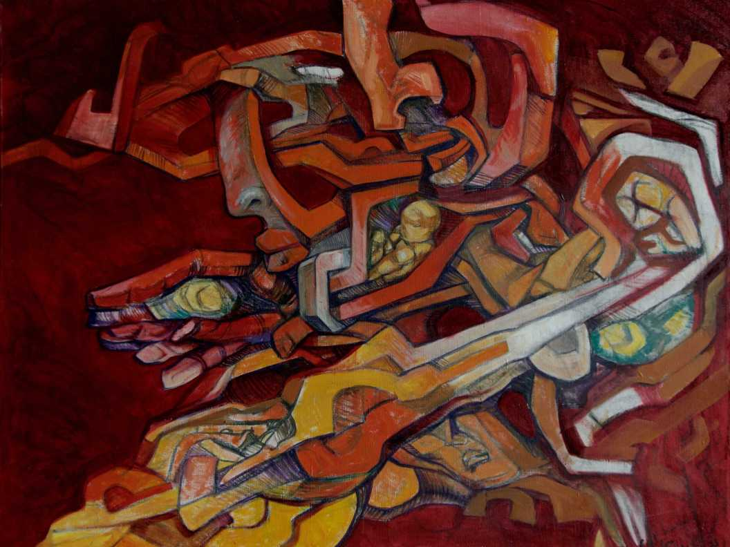 The Family - acrylic on canvas, 2003