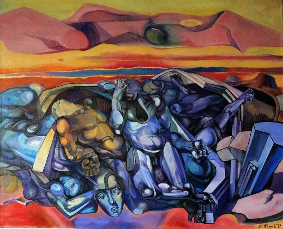 TheDawn-acrylic on canvas-2002