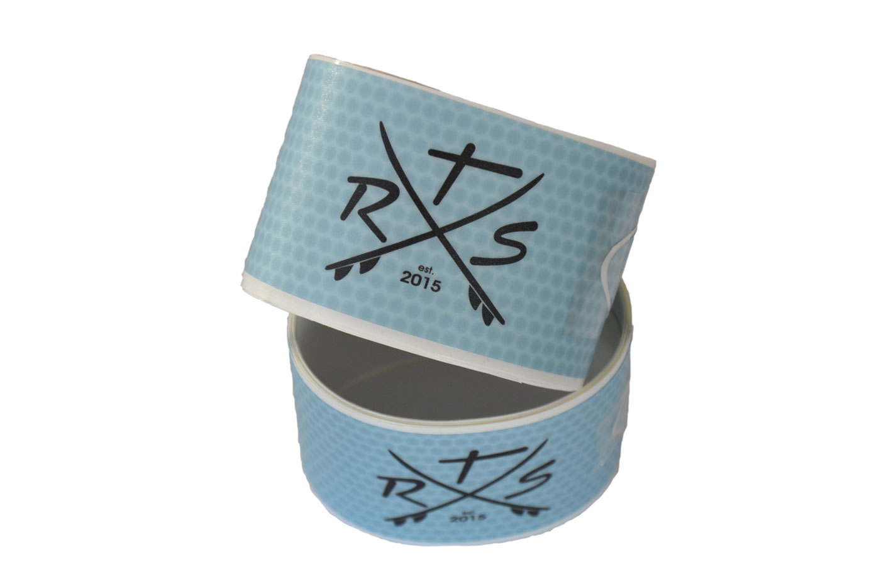 Rail Saver Tape transparent SUP kantenschutz blau