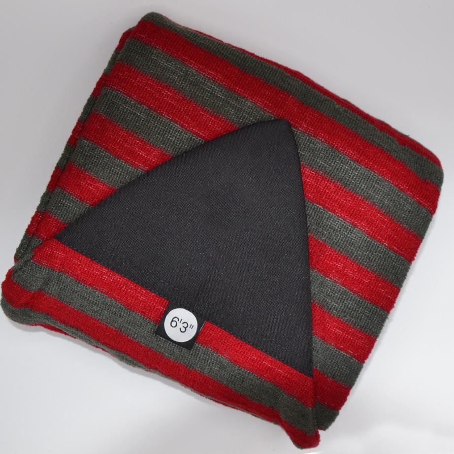 Surfboard Socke 6' 3 red