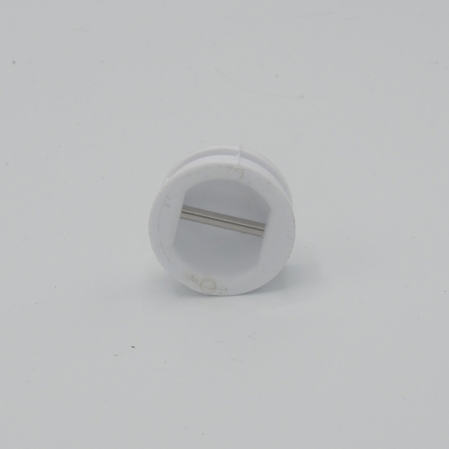 leash plug 32mm white