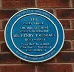 Blue Plaque for The Old Hall