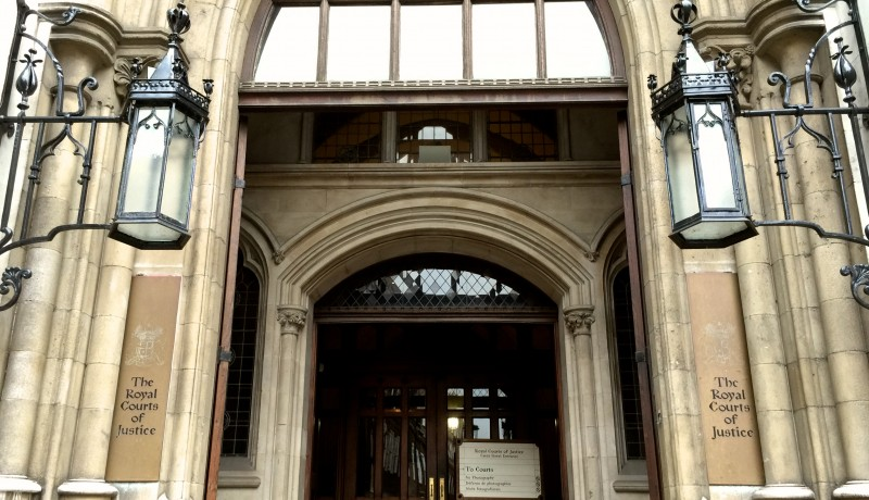 Royal Courts of Justice - Carey Street Entrance - Photo by Nick Perry