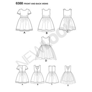 newlook-girls-pattern-6388-front-back-view