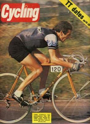 Stolen 1975 ALEC BIRD 545cm Time Trial Frame