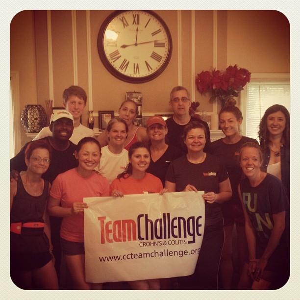 team challenge carolinas ccfa crohns colitis half marathon stephanie hughes ostomy blog