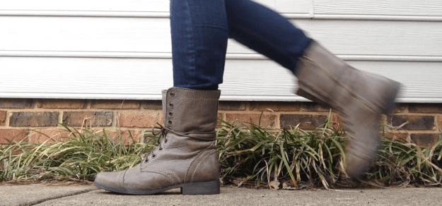 march goals monthly walk boots shoes stephanie hughes  stolen colon crohn's disease ulcerative colitis inflammatory bowel disease ibd blog