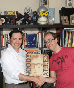 Episode 63 – Patric Verrone on Woody Allen – Stand Up Comic and The Night Club Years