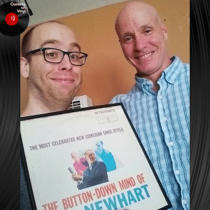 Episode 152 – Brian Kiley on Bob Newhart – The Button-Down Mind