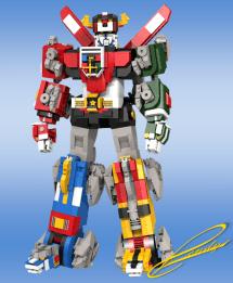 LEGO Voltron 3