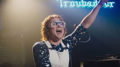 Photo of Rocketman Video: Taron Egerton Sings Elton John