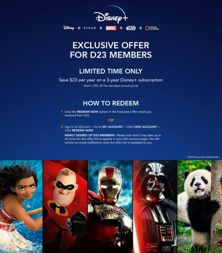 Disney+ Offer