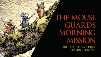 The Mouse Guard's Morning Mission